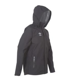 UMBRO Core Rain Jacket jr Sort 128 Regnjakke med god ventilasjon til junior